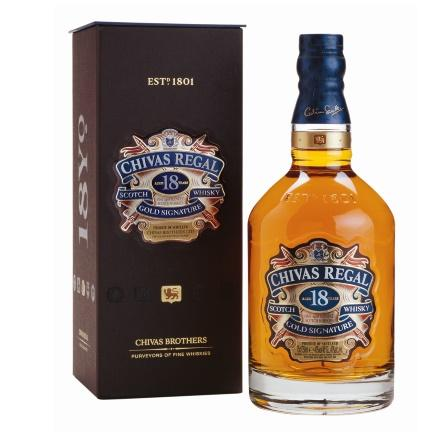 W. Chivas Regal 18 A�os 1x750cc